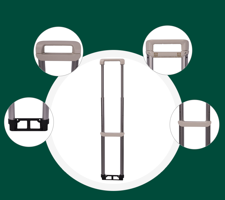 Parts of the trolley handle