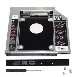 HDD Caddy 12.7mm 2nd SATA to SATA Hard Drive Adapter For Laptop Universal CD/DVD