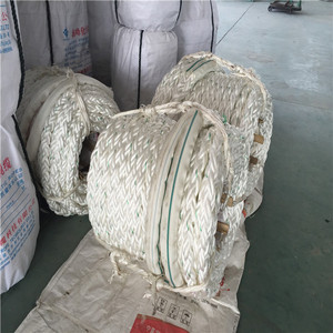 36mm 12 strand marine Nylon/PE/PP/UHMWPE floating mooring rope