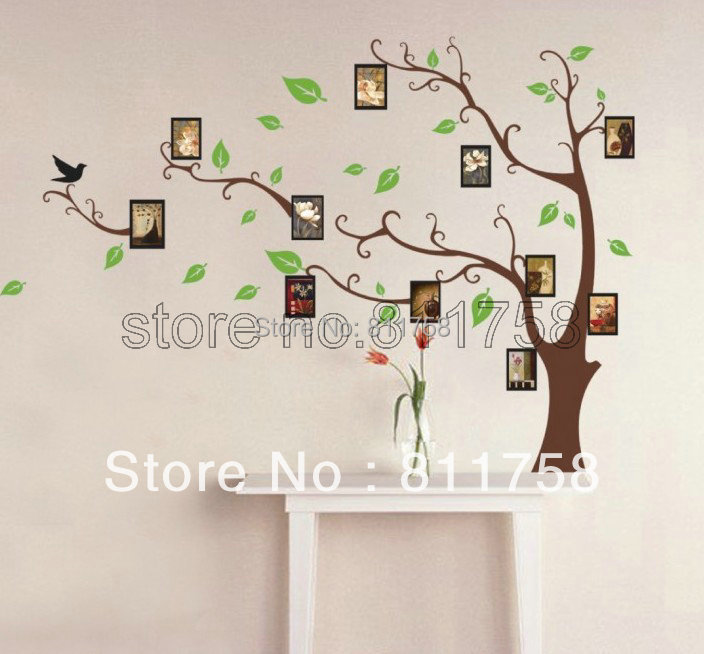 wholesale Mural Home Decor Decals decorative Removable Craft Wall Stickers
