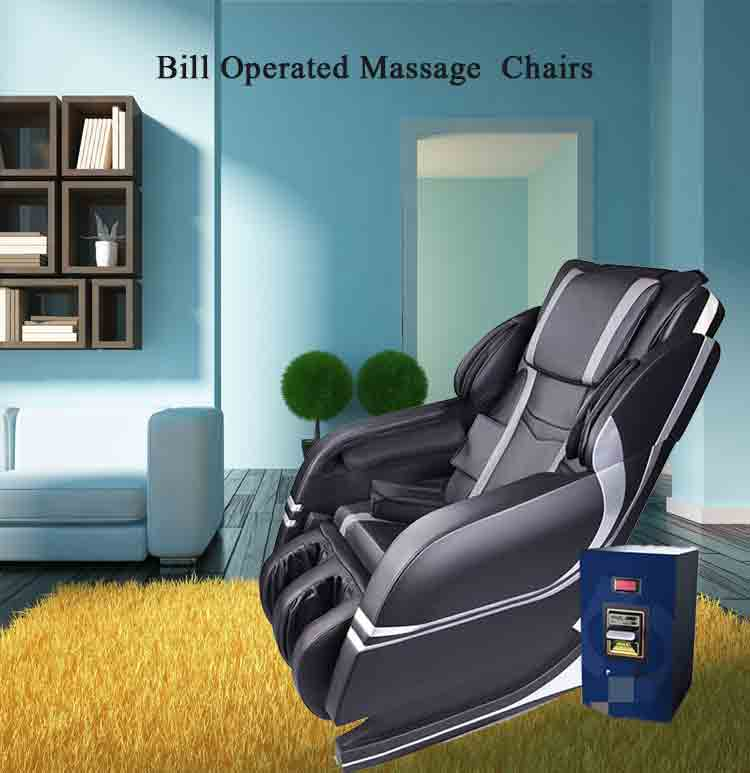 wholesale luxury coin slot massage chair