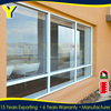 Commercial shopfront and residential house used safety glass Aluminuum fixed Large Glass Windows