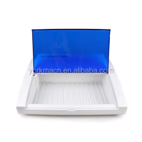 With blue light uv tool sterilizer/led uv sterilizer cabinet/UV Sterilizer for salon beauty