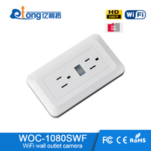 WIFI IP 1080P Camera Spy wifi Wall Plug Socket Hidden Camera Video Recorder hidden cctv camera