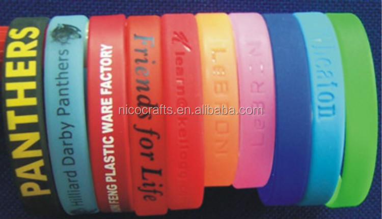 Companies looking for distributor promotional products wholesale silicone wristbands