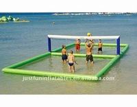 2012 hot sale water volleyball games