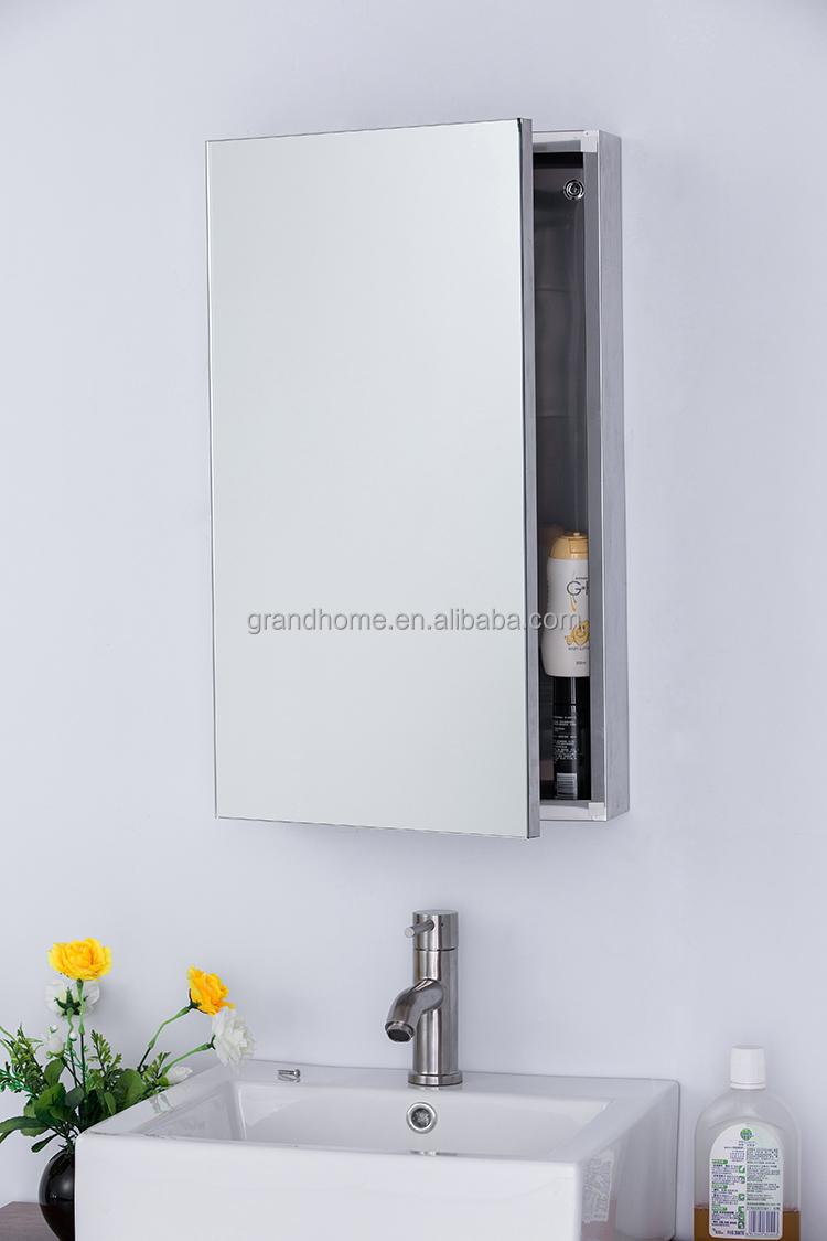 Bathroom Mirror Cabinet Stainless Steel Mirror Cabinet - Buy ...