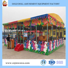 Children Interesting Amusement Park Electric Train Rides Spray Ball Car