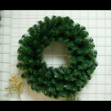 Promotional pvc xmas garland christmas wreath for sale