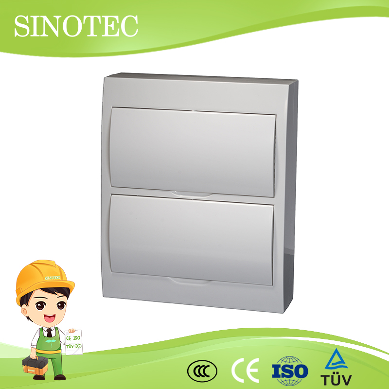 Abs electrical panel board abs electrical distribution box surface mounted abs cover distribution panel board