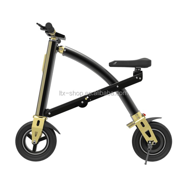 Sport & Unterhaltung Mini Falten Roller E-bike Tragbare Faltbare Elektrische Fahrrad Fahrrad Bürstenlosen Motor Lithium-batterie Leichte