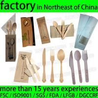 Birchwood Disposable Wooden Tableware