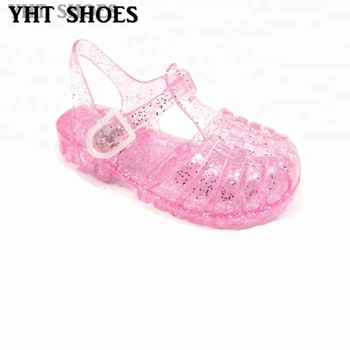 ddcde17ce8ea 2018 children cute jelly sandals hollow out summer round toe kids jelly  shoes