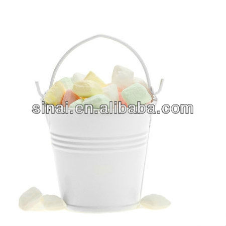 Beautiful Wedding Tin Pail / Wedding Promotion More Colors Tin Pail