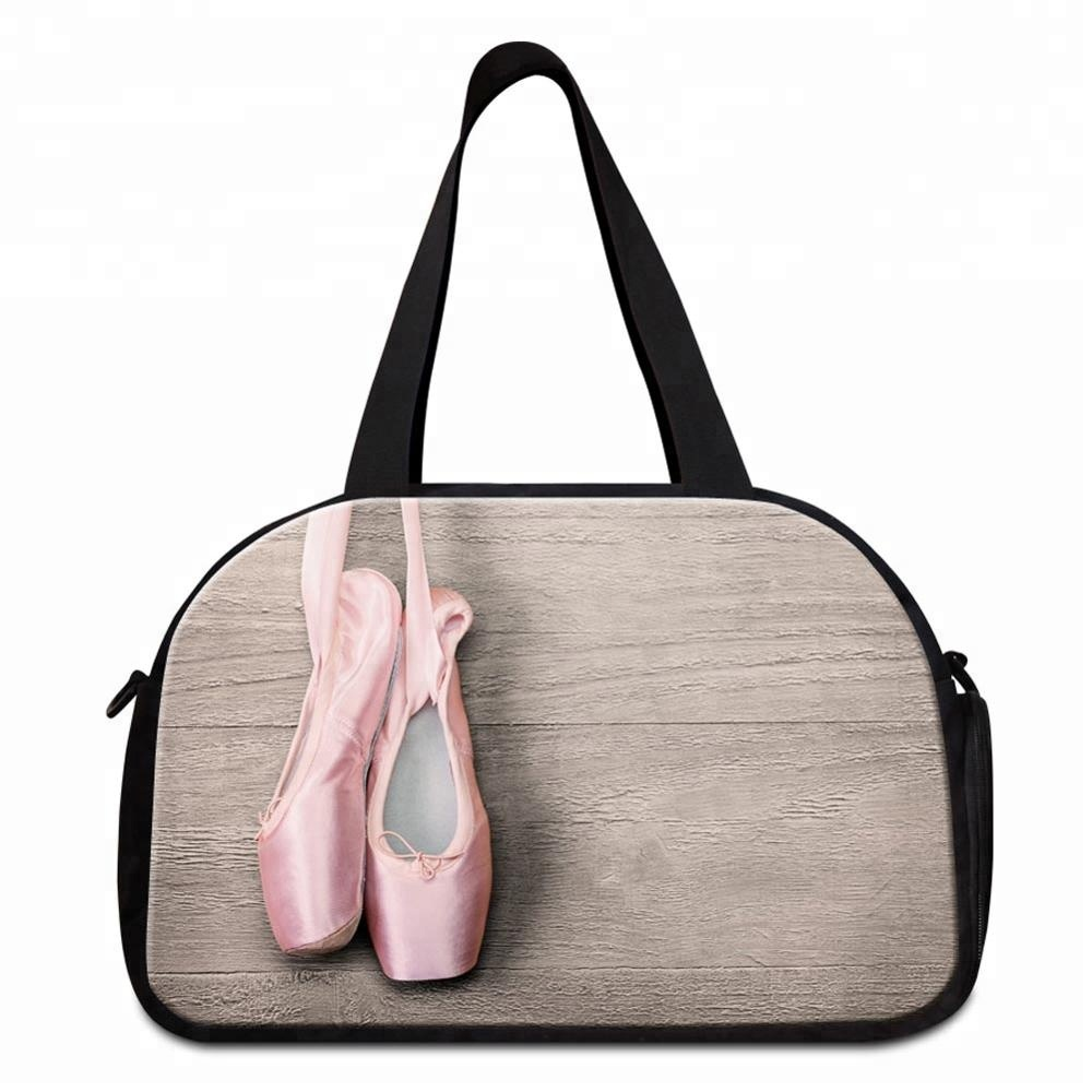 2019 Ladies <strong>Travel</strong> Handbags Ballet Dancing Girls Tourist <strong>Travel</strong> Tote Bag