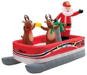 Inflatable Santa On Boat Inflatable Santa On Boat Suppliers