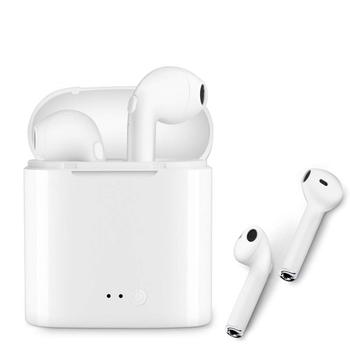 GoldenSky OEM Mini White ABS mobile earphone wireless bluetooth earphone for newest iPhone and Android Cellphone