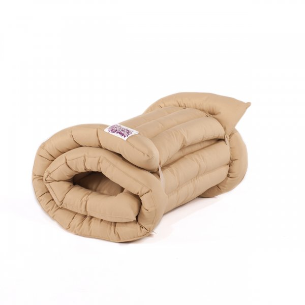 Cream Roll Up Bed Single