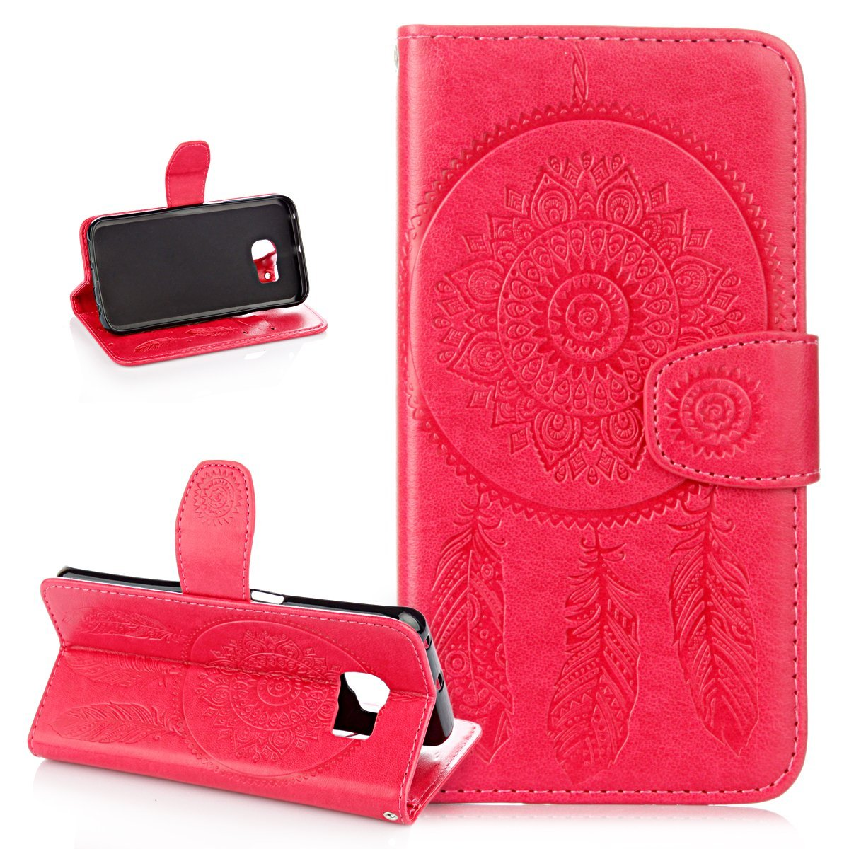 Cheap Dream Wallet Find Deals On Line At Alibabacom Steam 201 Get Quotations Galaxy S6 Edge Casewallet Case For Edgeikasus Embossing Catcher