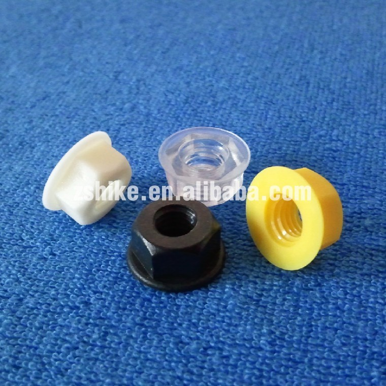 GB6177.1 M6 Plastic Hexagon Nuts With Flange