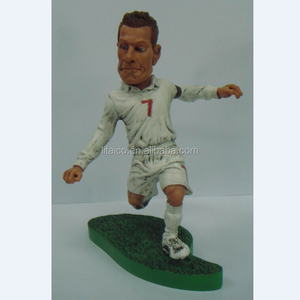 "Customized Handmade 6"" Football Player 3D Bobble Head Figurines"