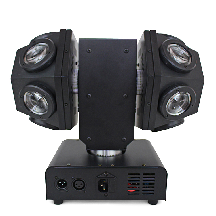 New Double Ball RGBW 4IN1 Beam Laser For DJ Disco Party Stage LED Moving Head Stage Light