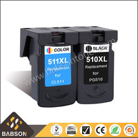 Remanufactured PG-510 CL-511 Compatible ink cartridge for Canon iP2700 MP240