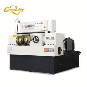 hydraulic thread rolling making machine applied for high precision workpiecs