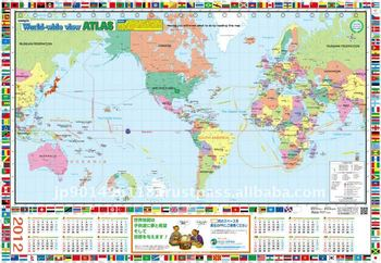Source Easy Read Educational World Map Item On M Alibaba Com