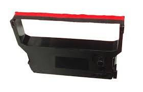 AIM Compatible Replacement - Compatible to E8900 Black/Red P.O.S. Printer Ribbons (6/PK) - Equivalent to Verifone CRM 0023-01 - Generic