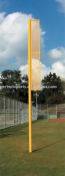 20ft Foul Pole with ground sleeves