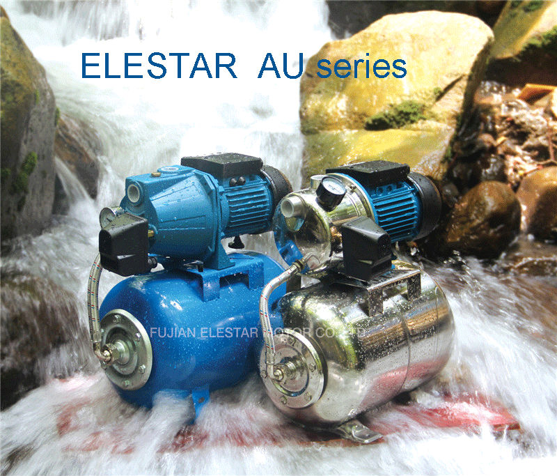 V- AUJET high pressure eletric water pressure booster pump