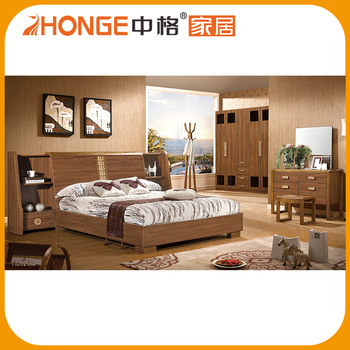 Cheap Price Latest Wooden Indian Bedroom Furniture Designs