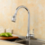 Commercial single handle pull down brass kitchen sink water faucet taps
