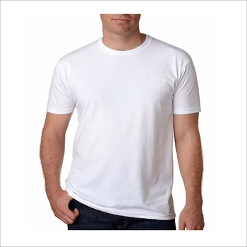 2f358609e China Factory Wholesale Slim Fit Plain Tshirt Cotton Blank White T Shirt  For Men