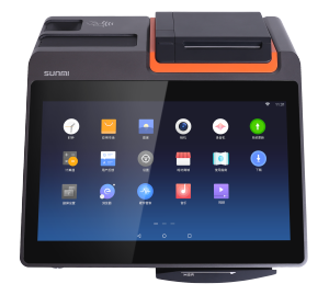 Sunmi T1 mini Android all-in-one POS Terminal cashier register built-in printer