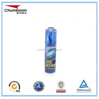 Diameter 52mm necked-in empty printed packaging aerosol tin can for body spray