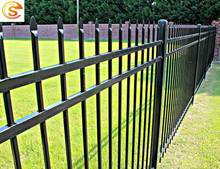 Hot sale modern wrought iron fence metal fencing for farm