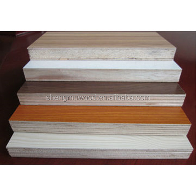 Best Price Melamine Faced Commercial Plywood Sheets 18mm For Cabinet