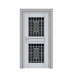 Safety Entry Security Steel Ghana Door Cheap Residential Entry Single Leaf Security Steel Doors