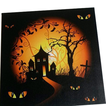 Halloween led canvas light up frames photo wall artled framed art halloween led canvas light up frames photo wall artled framed art painting home wall mozeypictures Image collections