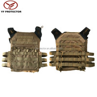 Airsoft plate carrier tactical vest military police protection vest