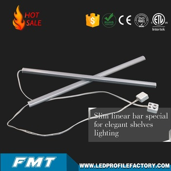 China Led Closet Light Portable Magnetic Aluminum Under Cabinet Led Door  Light Bulb For Shelf Lighting