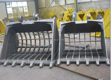 good quality and low prices grid type excavator bucket