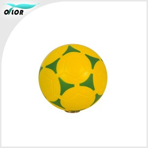 5 inch Pu foam Soccer ball for promotional gift logo can be customized