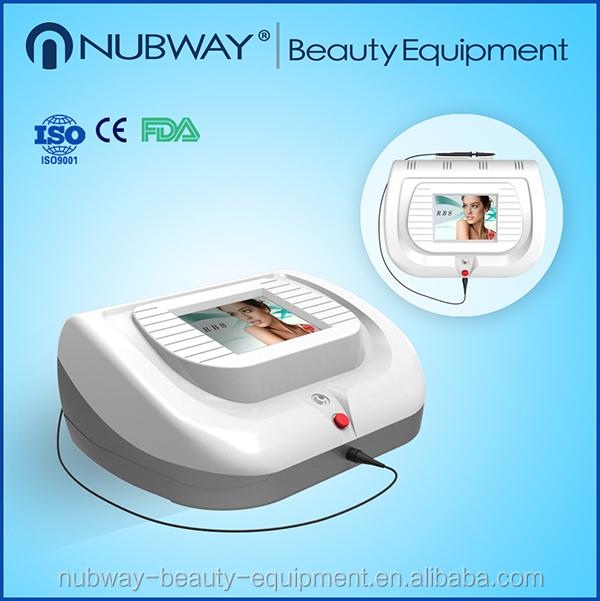 30MHZ High Frequency vascular therapy device disease veins treatment machine long pulsed nd yag laser veins removal machine