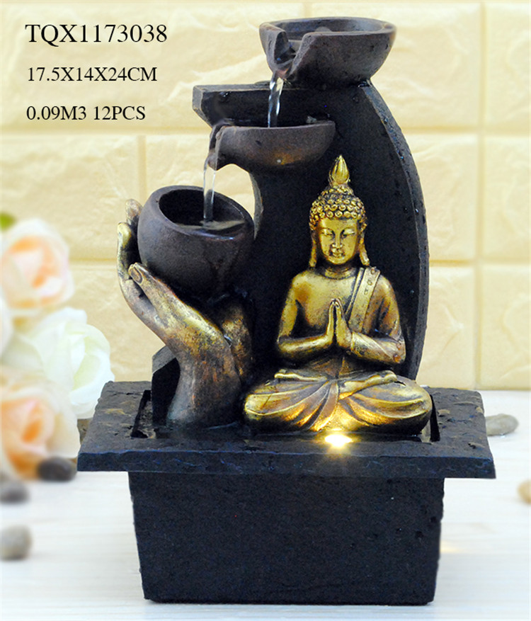 2018 Best selling resin ganesh water fountain with good quality