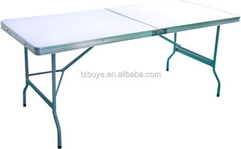 Heavy Duty Folding Trestle Table Picnic Camping Bbq Banquet Party Market