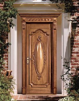 extrieur conception de la porte en bois massif porte fabrication dans le guangdong