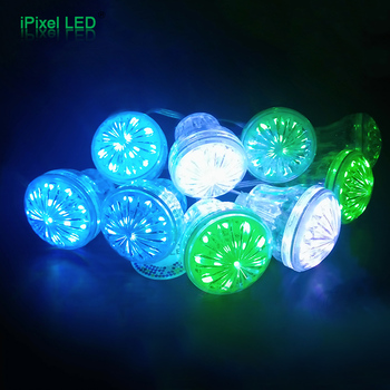 Cabochon Multicolore Led Rgb 60 Mm Lamp Verlichting Voor Carnaval ...